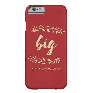 Alphagamma-Deltagroßer Kranz Barely There iPhone 6 Hülle