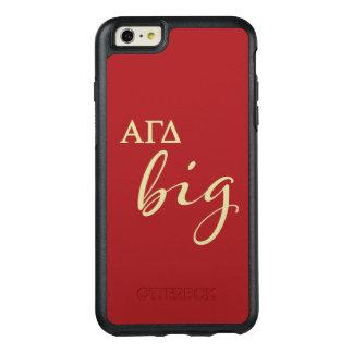 Alphagamma-Deltagroßes Skript OtterBox iPhone 6/6s Plus Hülle