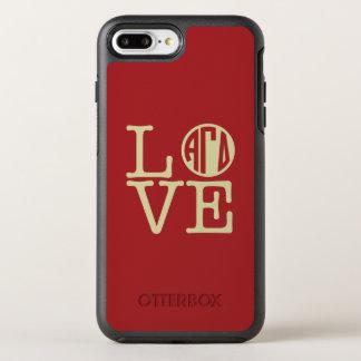 Alphagamma-DeltaLiebe OtterBox Symmetry iPhone 8 Plus/7 Plus Hülle