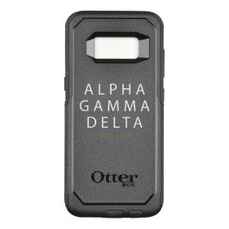 Alphagamma-Deltamoderne Art OtterBox Commuter Samsung Galaxy S8 Hülle