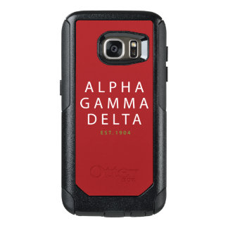 Alphagamma-Deltamoderne Art OtterBox Samsung Galaxy S7 Hülle