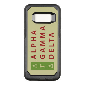 Alphagamma-Dreieck gestapelt OtterBox Commuter Samsung Galaxy S8 Hülle