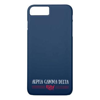 Alphagamma-Dreieck USA iPhone 8 Plus/7 Plus Hülle