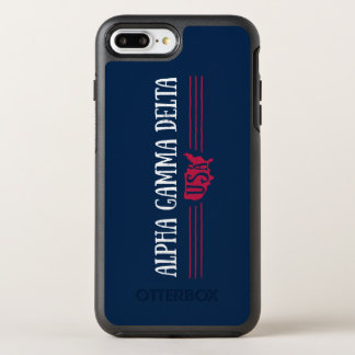 Alphagamma-Dreieck USA OtterBox Symmetry iPhone 8 Plus/7 Plus Hülle