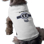 AlphahundehundeT - Shirt Hundekleidung