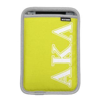 Alphakappa-Lambda-gotische Schriften Sleeve Für iPad Mini
