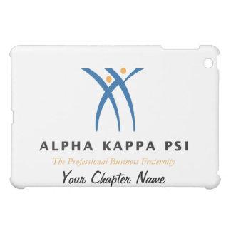 Alphakappa-P-/inname und -logo iPad Mini Hülle