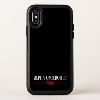 AlphaOmicron PU USA OtterBox Symmetry iPhone X Hülle