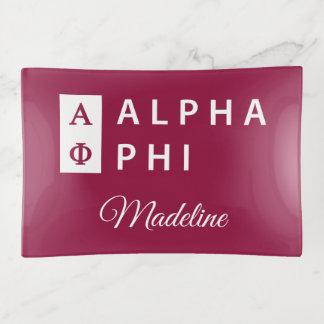 Alphaphi | gestapelt dekoschale
