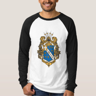 Alphaphi-Omega-Farbe - Wappen T-Shirt