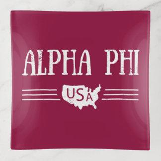 Alphaphi USA Dekoschale