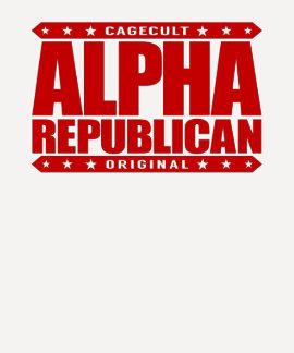 ALPHArepublikaner - ich kann Liberale den Schrei T Shirt