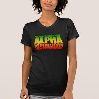 ALPHArepublikaner - ich kann Liberale Schrei, T Shirt