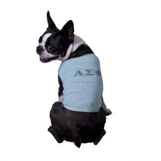 Alphasigma-Phi-Grau-Buchstaben Shirt
