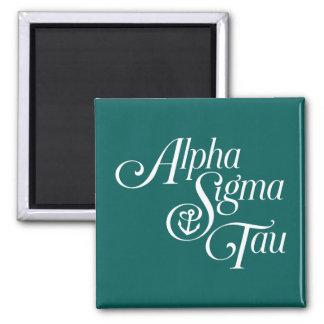 Alphasigmatau-Vertikale-Kennzeichen Quadratischer Magnet