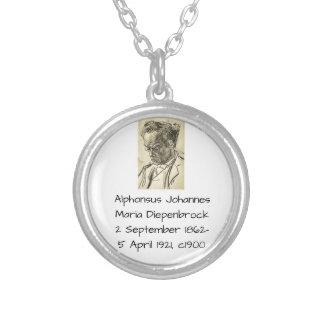 Alphons Johannes Maria Diepenbrock 1900 Versilberte Kette