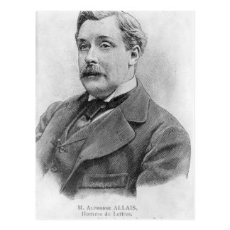 Alphonse Allais-Ende des 19. Jahrhunderts Postkarte