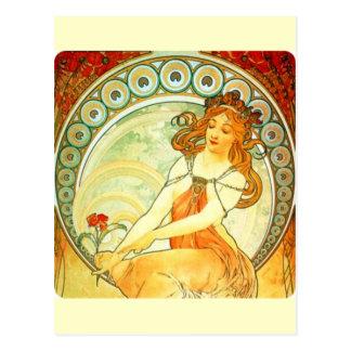 Alphonse Mucha Postkarten
