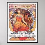 Alphonse Mucha - Weltausstellung St. Louis 1904 Posterdrucke