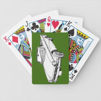 Alpine 5 Sport-Auto-Illustration Bicycle Spielkarten