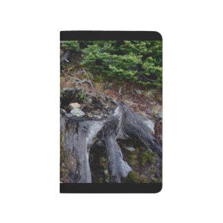 Alpine Terrarium-Taschen-Zeitschrift Taschennotizbuch