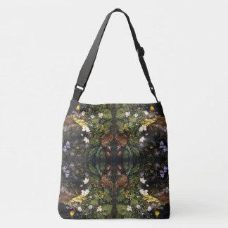 Alpine Wildblume-Blumen-Fingerhut-Taschen-Tasche Tragetaschen Mit Langen Trägern