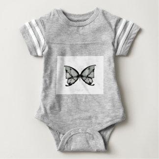 Alpiner weiser Schmetterling Baby Strampler