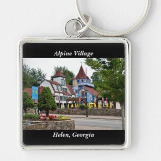 Alpines Dorf Helen, Georgia Schlüsselanhänger