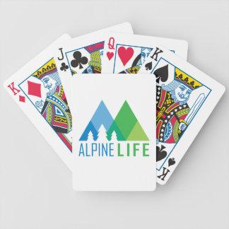Alpines Leben Bicycle Spielkarten
