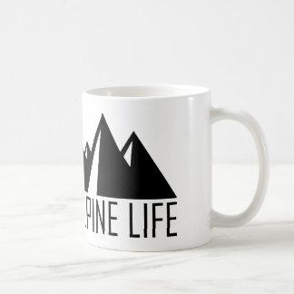 Alpines Leben Kaffeetasse