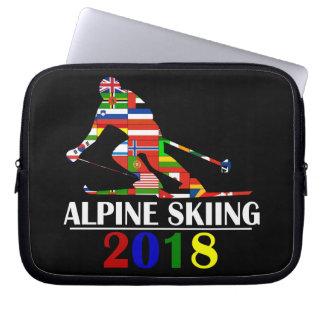 ALPINES SKIFAHREN 2018 LAPTOP SLEEVE