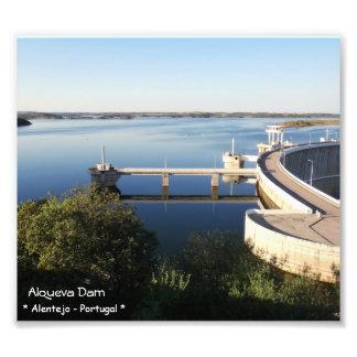Alqueva Verdammung - Alentejo - Portugal Fotodruck