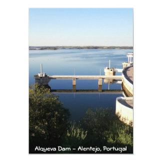 Alqueva Verdammung - Alentejo, Portugal Karte