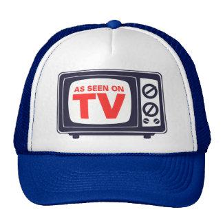 Als gesehener im Fernsehen Hut Netzmützen