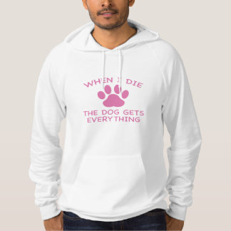 Als ich die, erhält der Hund alles Hoodie