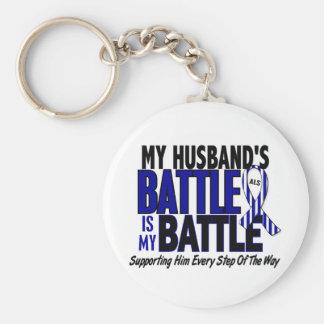 ALS mein Kampf zu 1 Ehemann Standard Runder Schlüsselanhänger