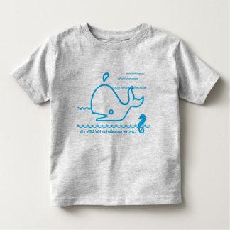 Als Willi Wal schwimmen lernte | shirt für Kids