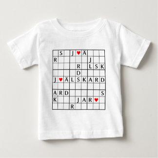 älskar Grabung der Zacke Baby T-shirt