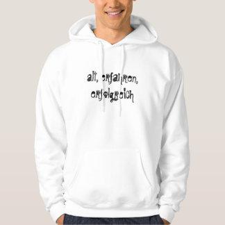 alt, erfahren, erfolgreich hoodie