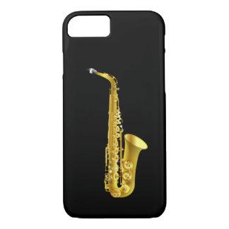 Alt-Saxophon-Saxophon-Messingmusik-Instrument iPhone 8/7 Hülle