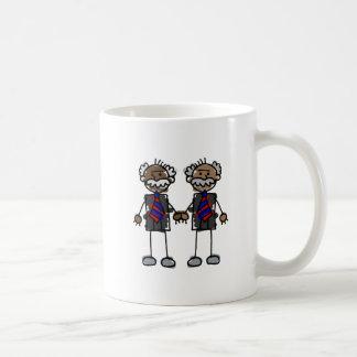 Alte afrikanische Paare Kaffeetasse