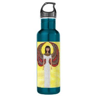 Alte ägyptische Engels-Freiheits-Flasche Trinkflasche