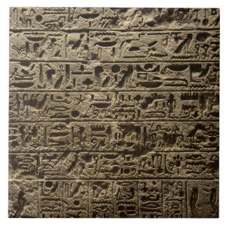 alte ägyptische Hieroglyphen Fliese