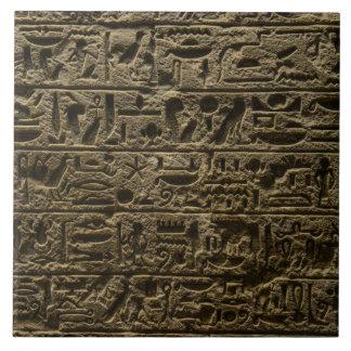 alte ägyptische Hieroglyphen Keramikfliese