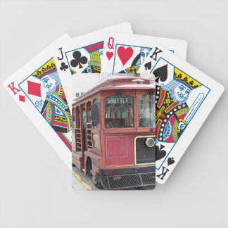 Alte Anchoragelaufkatze, Alaska Bicycle Spielkarten