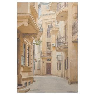Alte arabische Architektur Aserbaidschans Galerieleinwand