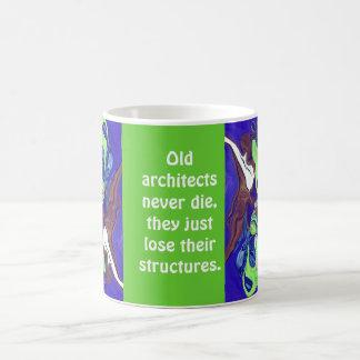 Alte Architekten die nie Kaffeetasse