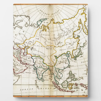 Alte Asien-Karte 1799 Fotoplatte