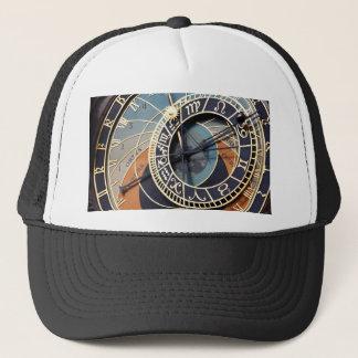Alte Astrologietimepiece-Tscheche-Uhr Truckerkappe