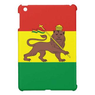 Alte äthiopische Flagge mit Löwe von Judah iPad Mini Hülle